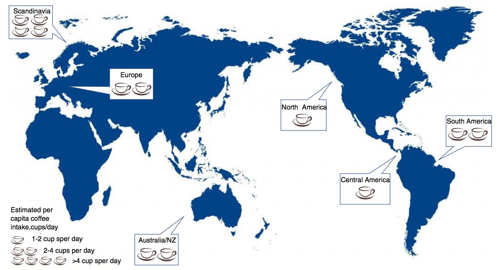 Reducción mundial de la mortalidad relacionada con enfermedades hepáticas en zonas con mayor consumo de café
