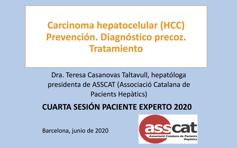 Cuarta sesión Paciente Experto en Hepatología 2020