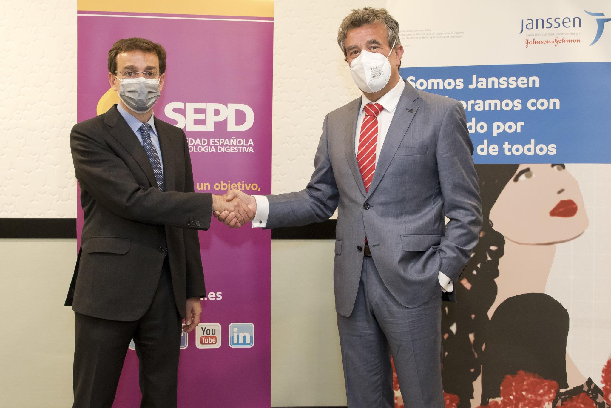 La SEPD i Janssen s'uneixen per promoure el programa docent en gastroenterologia i hepatologia