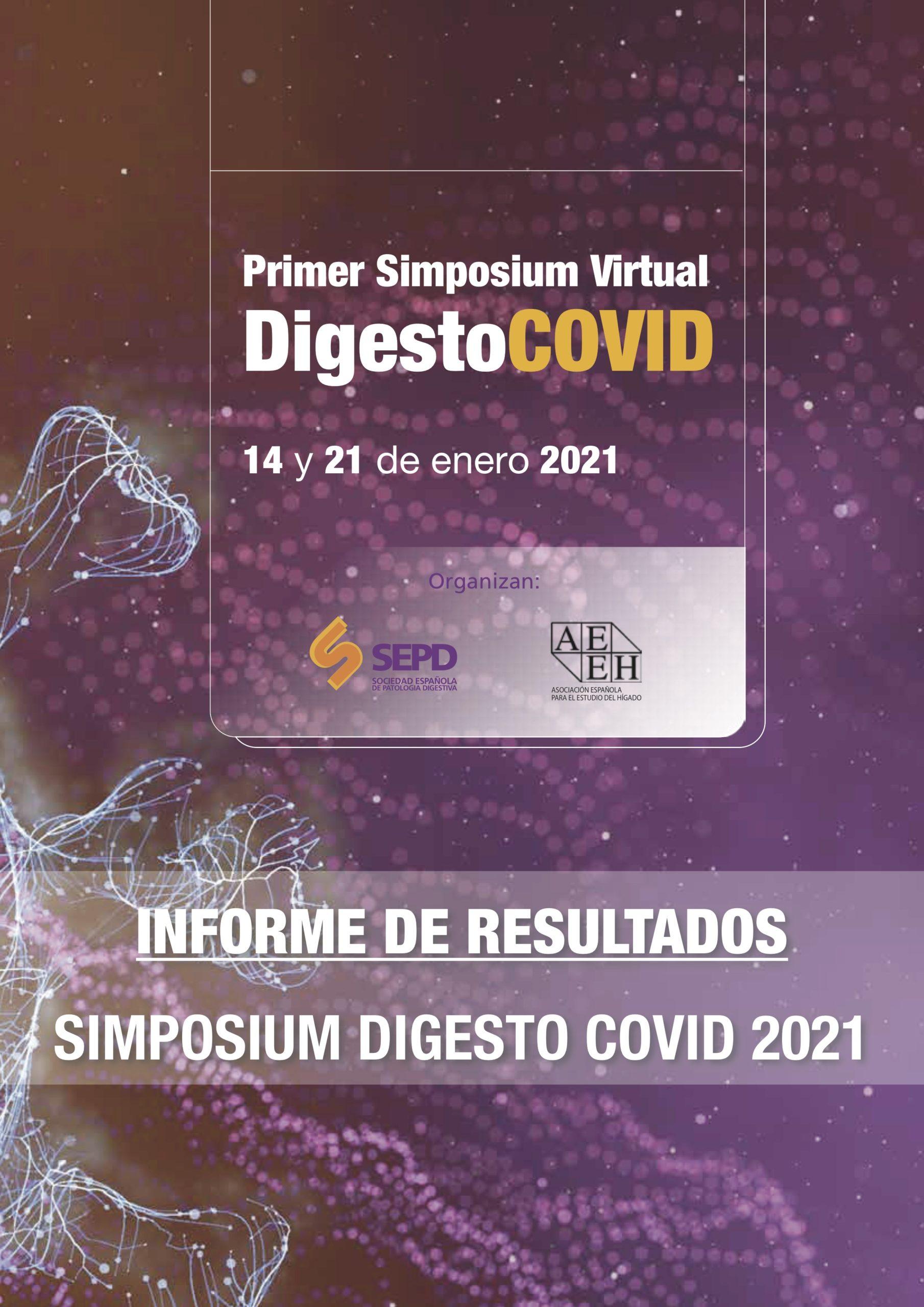 """Informe de resultados """"Simposium DigestoCOVID 2021"""""""