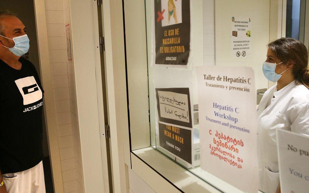 Objetivo: acabar con la hepatitis C en La Mina
