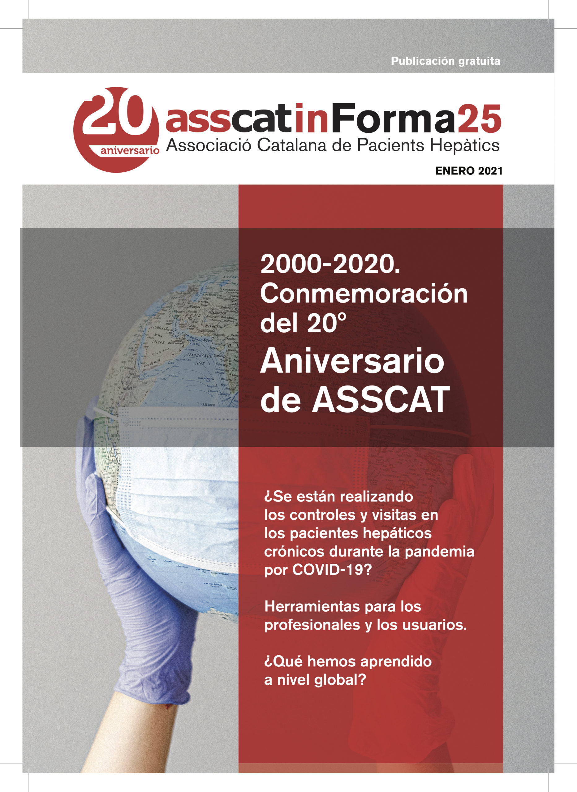 Revista impresa asscatinForma número 25