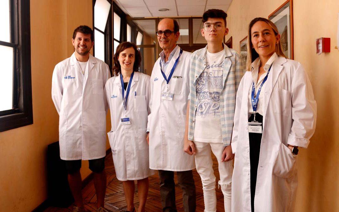 L'Hospital Vall d'Hebron, pioner al trasplantar un fetge per una malaltia rara